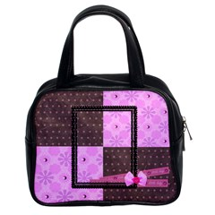 Little Lady Bag 2 Sides By Angel   Classic Handbag (two Sides)   7wtacjgun7sk   Www Artscow Com Front