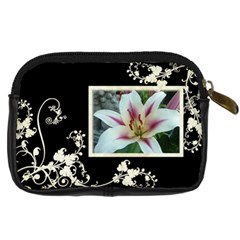 Creme Swirls Camera Case Template By Catvinnat   Digital Camera Leather Case   2dl3pr37kxb6   Www Artscow Com Back