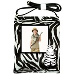 Zebra Sling Bag - Shoulder Sling Bag