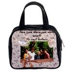 Bolsa para vovó Maria - Classic Handbag (One Side)