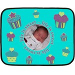 Life Is Sweet Baby Blanket - Mini - Mini Fleece Blanket