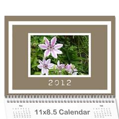 Classic Coffee & Creme Calendar 2012 By Catvinnat   Wall Calendar 11  X 8 5  (12 Months)   Nlinxq9dn4x0   Www Artscow Com Cover