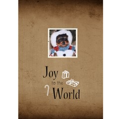 Jorge Christmas 5x7 Greeting Card By Jorge   Greeting Card 5  X 7    Sqzhyc1tc18x   Www Artscow Com Back Cover