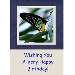 Damask Dream Birthday Card   1 By Mim   Greeting Card 5  X 7    Hrsquen6niqt   Www Artscow Com Front Cover