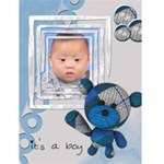 "It s a boy -  4.5"" x 6"" Greeting Cards - Greeting Card 4.5  x 6"