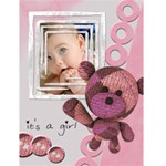 "It s a girl -  4.5"" x 6"" Greeting Cards - Greeting Card 4.5  x 6"