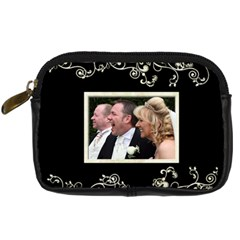 Wedding Camera Case By Catvinnat   Digital Camera Leather Case   Fvkibp5aukye   Www Artscow Com Front