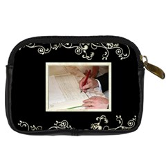Wedding Camera Case By Catvinnat   Digital Camera Leather Case   Fvkibp5aukye   Www Artscow Com Back