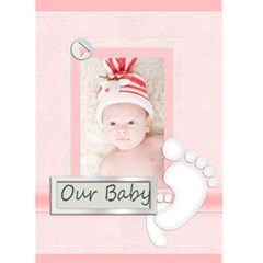 Baby Card By Joely   Greeting Card 5  X 7    Veqpo0b37r8k   Www Artscow Com Front Cover