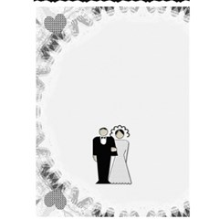Wedding Card #3 By Lil    Greeting Card 5  X 7    Krrtmzq95wum   Www Artscow Com Back Cover