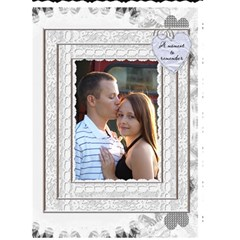 Wedding Card #3 By Lil    Greeting Card 5  X 7    Krrtmzq95wum   Www Artscow Com Front Cover