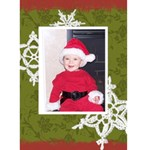 Making Spirits Bright 3 5x7 Christmas Card - Greeting Card 5  x 7