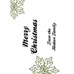 Making Spirits Bright 7 5x7 Christmas Card By Klh   Greeting Card 5  X 7    Qps9rm2ld2k1   Www Artscow Com Back Inside