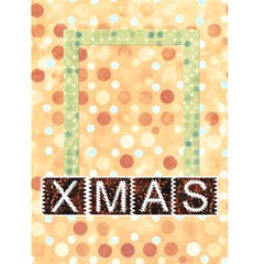 Xmas By Clince   Greeting Card 4 5  X 6    Dl1oj6o9aztf   Www Artscow Com Front Cover