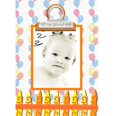 Birthday Card Template By Danielle Christiansen   Greeting Card 5  X 7    Ergpzntjaio1   Www Artscow Com Front Cover