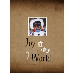Jorge Christmas 4,5 X 6 Greeting Card By Jorge   Greeting Card 4 5  X 6    6lsdlhyzu6gg   Www Artscow Com Back Cover