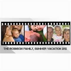 Filmstrip 3 Photos Cards By Angela   4  X 8  Photo Cards   Q04a1zog74g0   Www Artscow Com 8 x4 Photo Card - 4