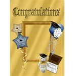 Grad card 1 - Greeting Card 5  x 7