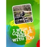 Jorge Colorful Greeting Card I - Greeting Card 5  x 7
