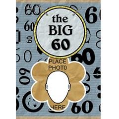 60th Birthday Card By Lil    Greeting Card 5  X 7    U2tdew9vylyr   Www Artscow Com Front Cover