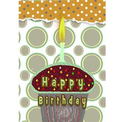 Birthday Card By Danielle Christiansen   Greeting Card 5  X 7    As05flsm3zd5   Www Artscow Com Back Cover