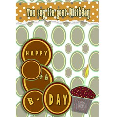 Birthday Card By Danielle Christiansen   Greeting Card 5  X 7    As05flsm3zd5   Www Artscow Com Front Cover
