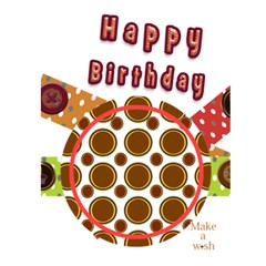 Birthday Card By Danielle Christiansen   Greeting Card 5  X 7    As05flsm3zd5   Www Artscow Com Front Inside