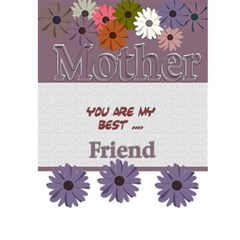 Mother s Day Card By Danielle Christiansen   Greeting Card 5  X 7    7mxz66saw27i   Www Artscow Com Back Cover