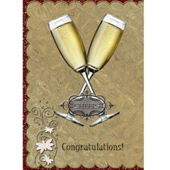 Congratulations Card By Lil    Greeting Card 5  X 7    Afrt9rckzsv7   Www Artscow Com Front Cover