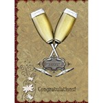 Congratulations Card - Greeting Card 5  x 7