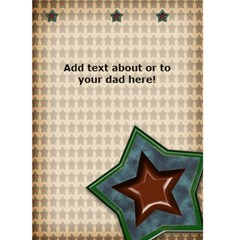 Father s Day Card Dad By Danielle Christiansen   Greeting Card 5  X 7    Zdrhintdgsje   Www Artscow Com Back Inside