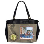 Vacation Bag - Oversize Office Handbag (Two Sides)