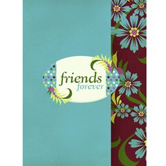 4x6 Friends Forever Card Template By Mikki   Greeting Card 4 5  X 6    K2o4bem4n98k   Www Artscow Com Front Inside