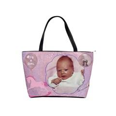 It s A Girl Bag By Lil    Classic Shoulder Handbag   Ztan1mqylf80   Www Artscow Com Front