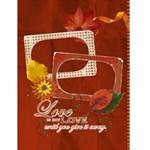 4x6 Love, Family, Fall, Autumn card template - Greeting Card 4.5  x 6