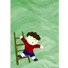 Boy Card By Claudia Sachs   Greeting Card 5  X 7    Yai48c53zp5u   Www Artscow Com Front Inside