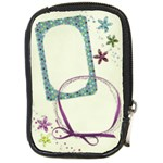 Floral camera bag template - Compact Camera Leather Case