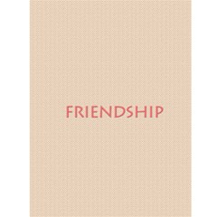 Friendship By Gary Bush   Greeting Card 4 5  X 6    Jt4zyyt98v22   Www Artscow Com Back Cover
