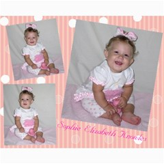 Sophie s 1st Birthday Photos By Erin Knowles   Collage 8  X 10    Ntrmf35za30a   Www Artscow Com 10 x8 Print - 4
