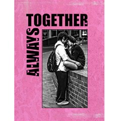 "Always Together   4 5"" X 6"" Greeting Cards By Carmensita   Greeting Card 4 5  X 6    U5yscr497rxp   Www Artscow Com Front Cover"