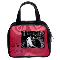 Love Is In The Air Red   Bag By Carmensita   Classic Handbag (two Sides)   1p7hqojgn4bf   Www Artscow Com Front