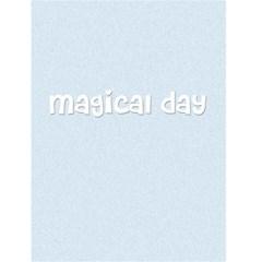 """My Fairy Tale Blue    4 5"""" X 6"""" Greeting Cards By Carmensita   Greeting Card 4 5  X 6    R60y5ayva0oa   Www Artscow Com Back Inside"""