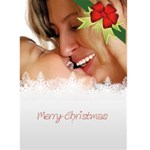 xmas card - Greeting Card 5  x 7