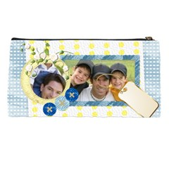 Blue Bag By Joely   Pencil Case   3f0467gw6an6   Www Artscow Com Back