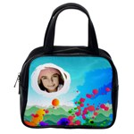 Painted Handbag - Classic Handbag (One Side)