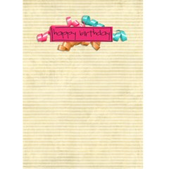Birthday Card 2 By Sheena   Greeting Card 5  X 7    2akc9ldvl56p   Www Artscow Com Back Inside