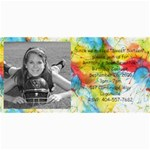 brittany birthday - 4  x 8  Photo Cards