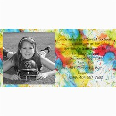 Brittany Birthday By Connie Rodgers   4  X 8  Photo Cards   Jmqoubx4eu4d   Www Artscow Com 8 x4 Photo Card - 9
