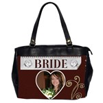 Bride & Groom Bag - Oversize Office Handbag (2 Sides)