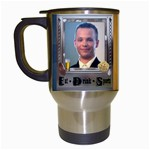 Eat * Drink * Sports*  Mug - Travel Mug (White)